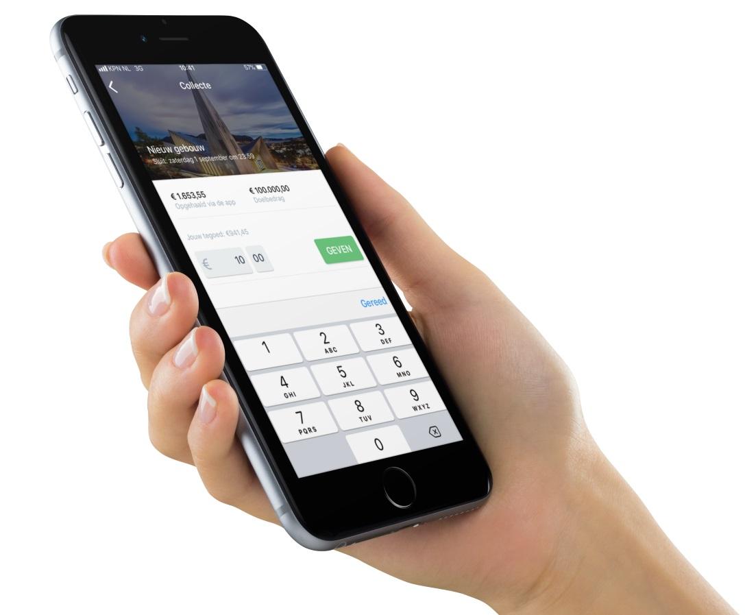 Scipio App voor kerken en digitale collecte