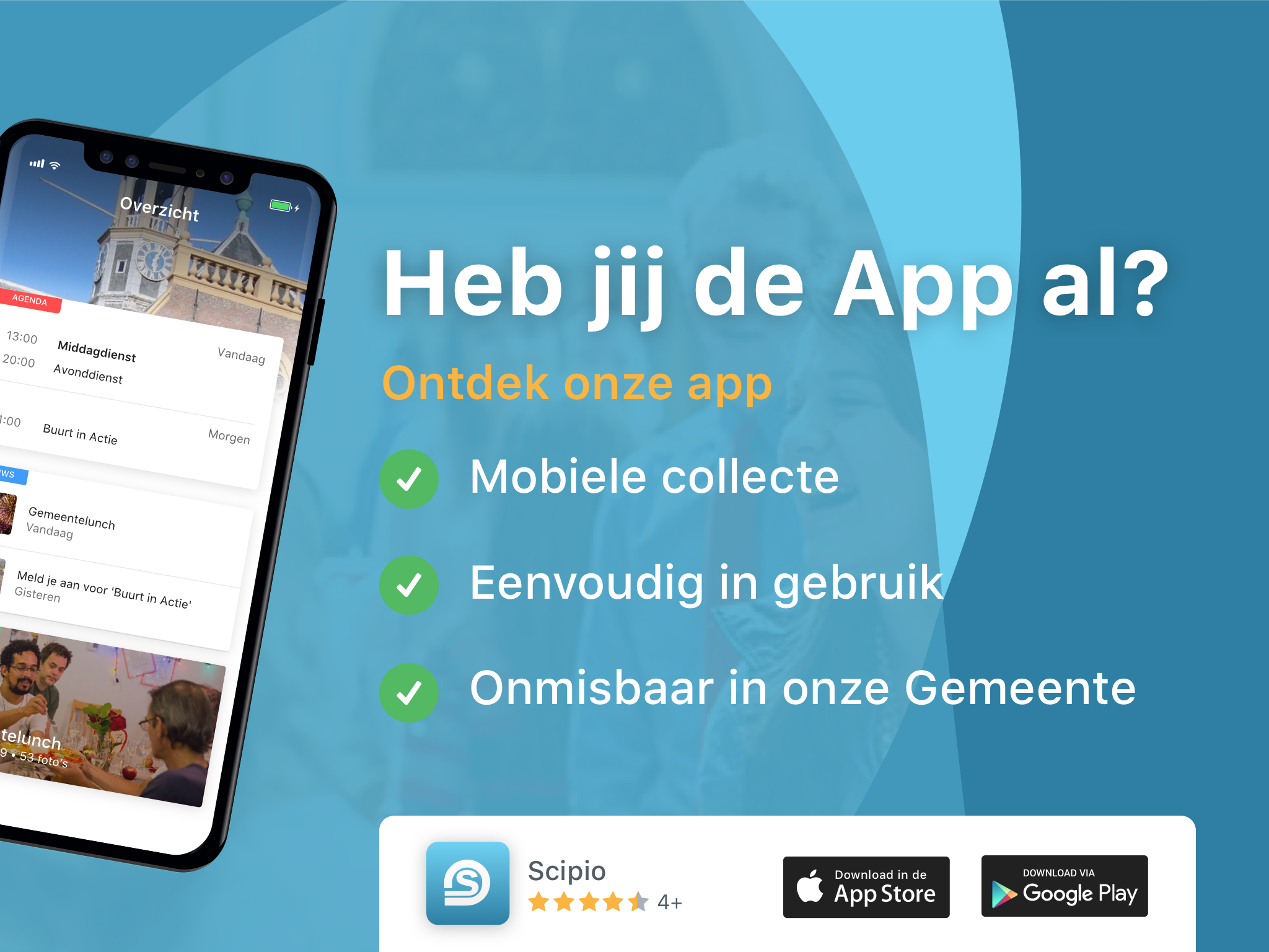 scipio app beamer collecte